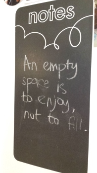 Empty Space Quote