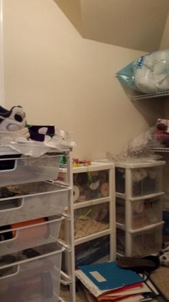 Storage Closet before back