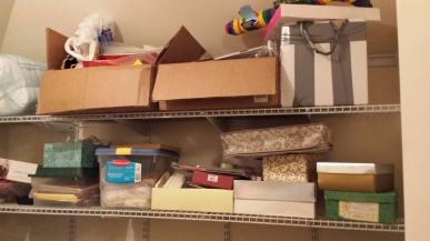 Storage Closet before shelves