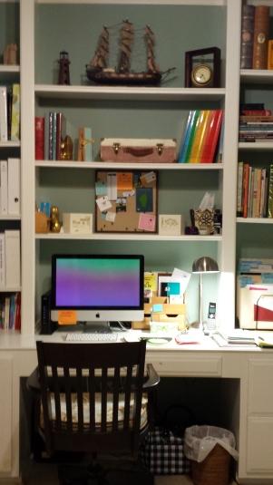 Study after desk