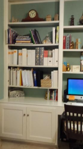 study desk left