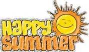 Happy SUmmer Clip Art.
